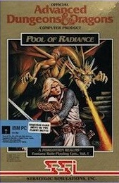 Pool of Radiance Box Cover